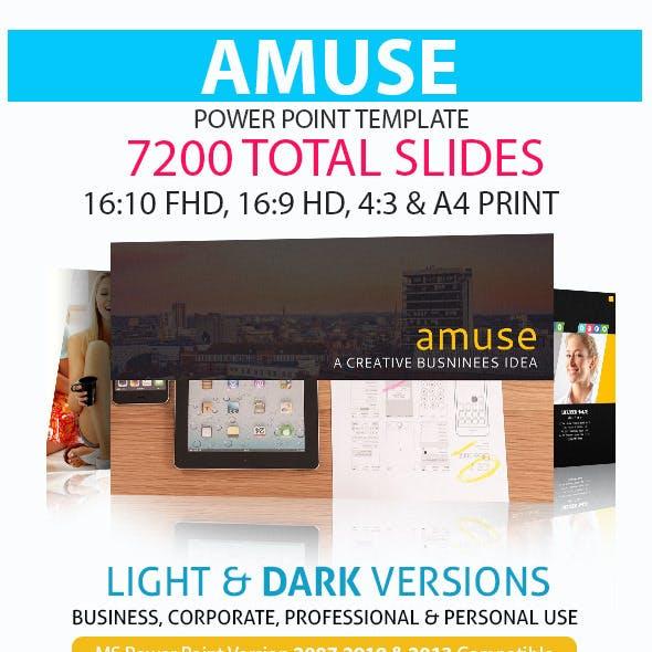 Amuse Power Point Presentation