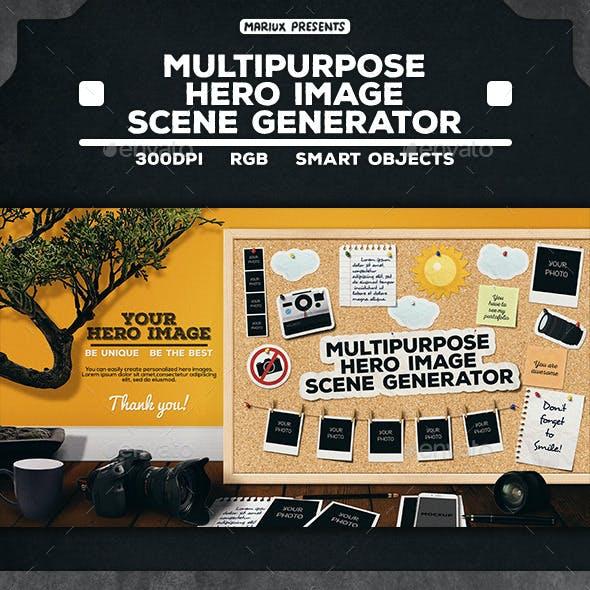 Hero Image Scene Generator