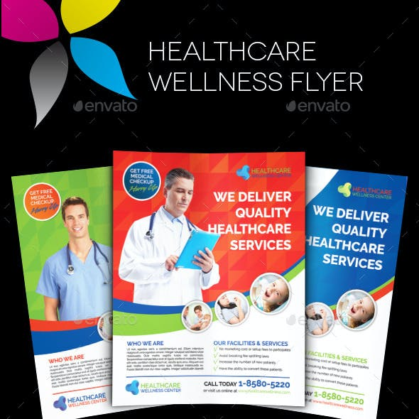 Healthcare Wellness Flyer