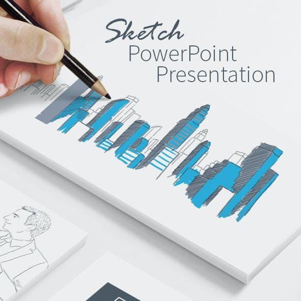 Business Sketch PowerPoint Presentation