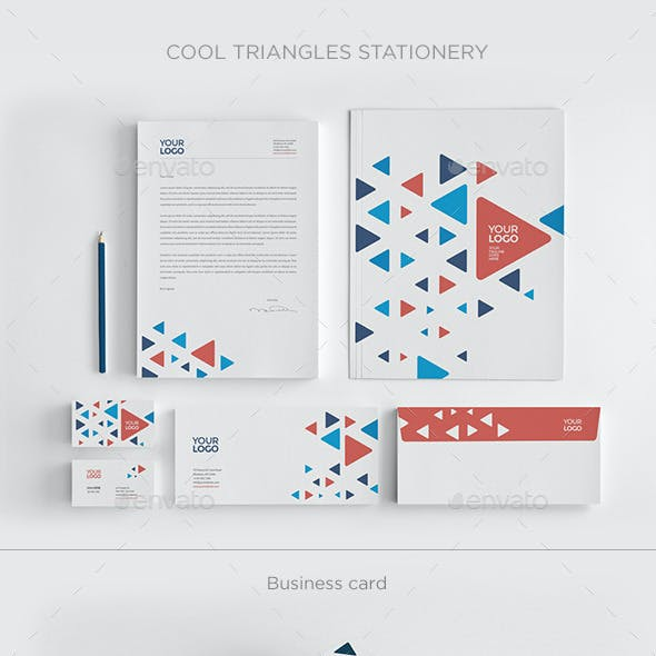Cool Triangles Stationery