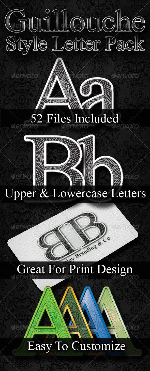 Guillouche Letter Pack - Decorative Symbols Decorative