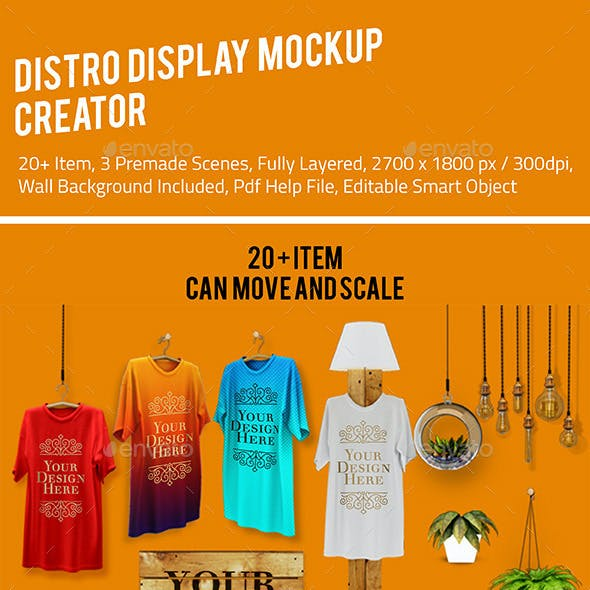 Distro Display Mockup Creator