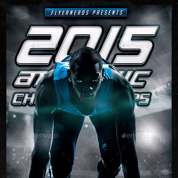 Athletic Championships Sports Flyer