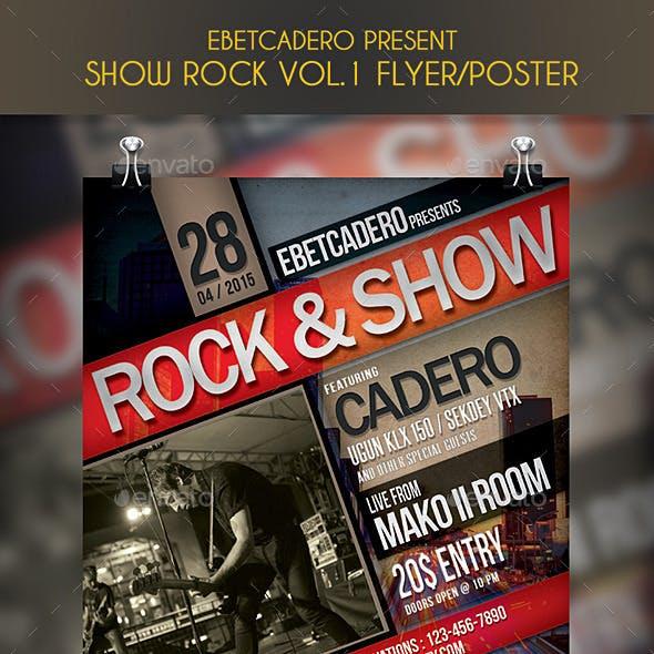 Show Rock Flyer / Poster Vol.1