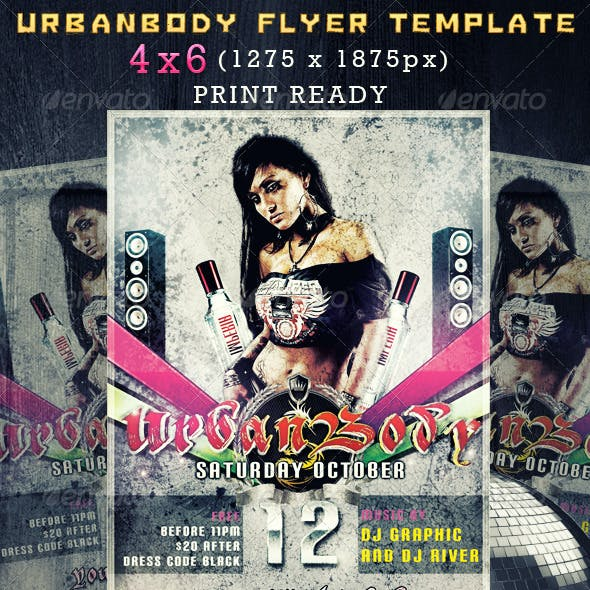 Urbanbody flyer
