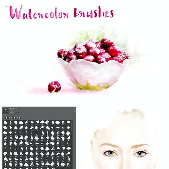 245 Watercolor Brushes
