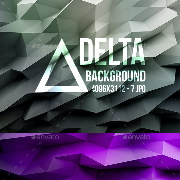 Delta - 7 LowPoly Background