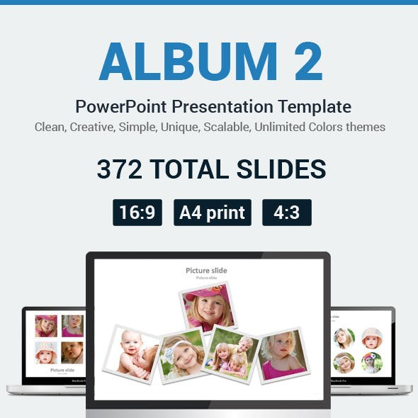 Album 2 PowerPoint Presentation Template