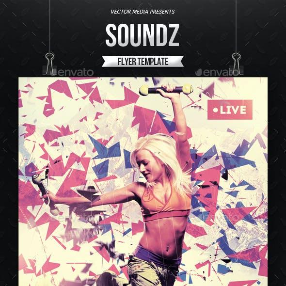 Soundz - Flyer