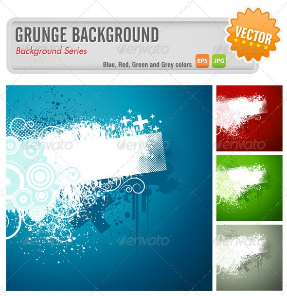 Grunge Background - Backgrounds Decorative