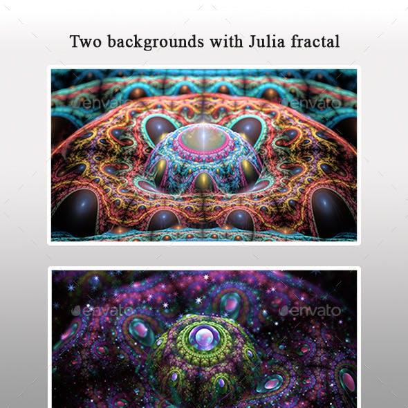 2 Macro Julia Fractals