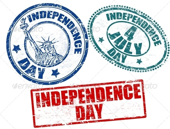 Independence Day stamps - Miscellaneous Seasons/Holidays