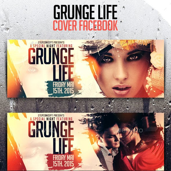 Grunge Life Cover Facebook