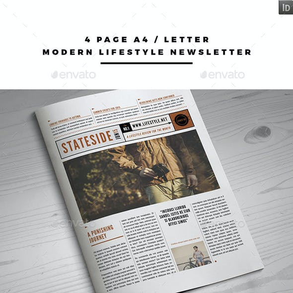 Modern Lifestyle Newsletter