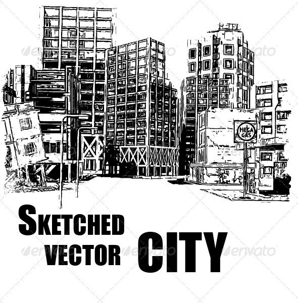 City Vector - Abstract Conceptual