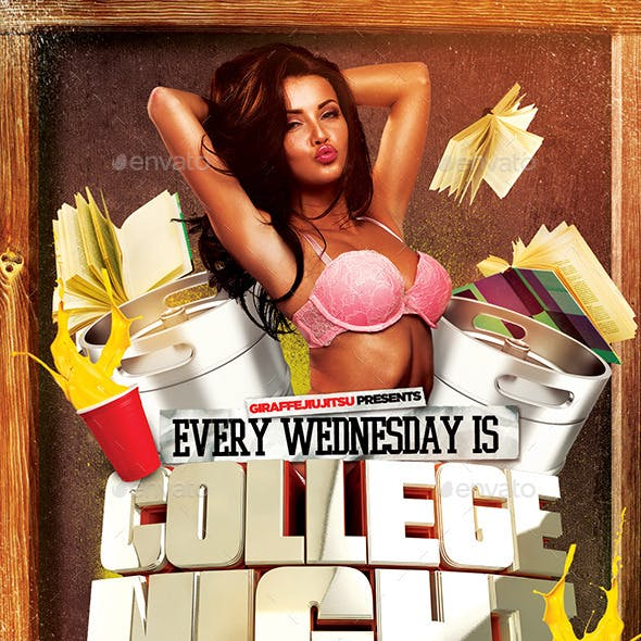 College Night 2 Flyer