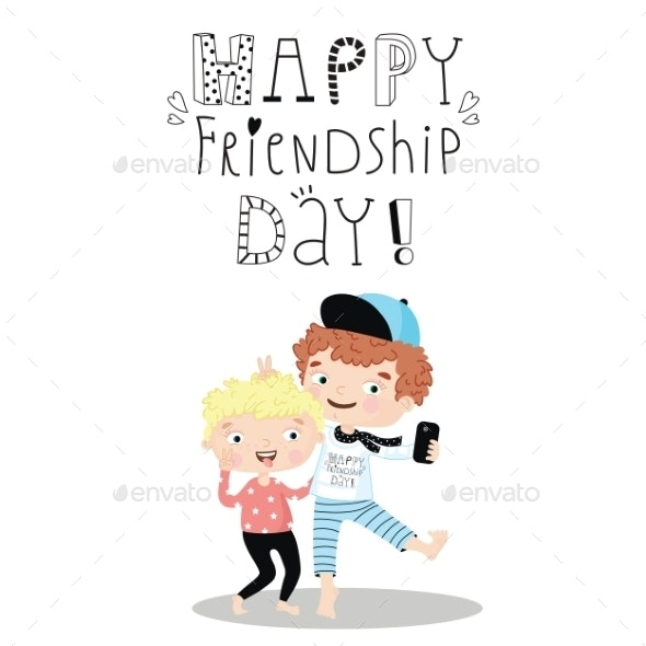 Happy Friendship Day - Backgrounds Decorative