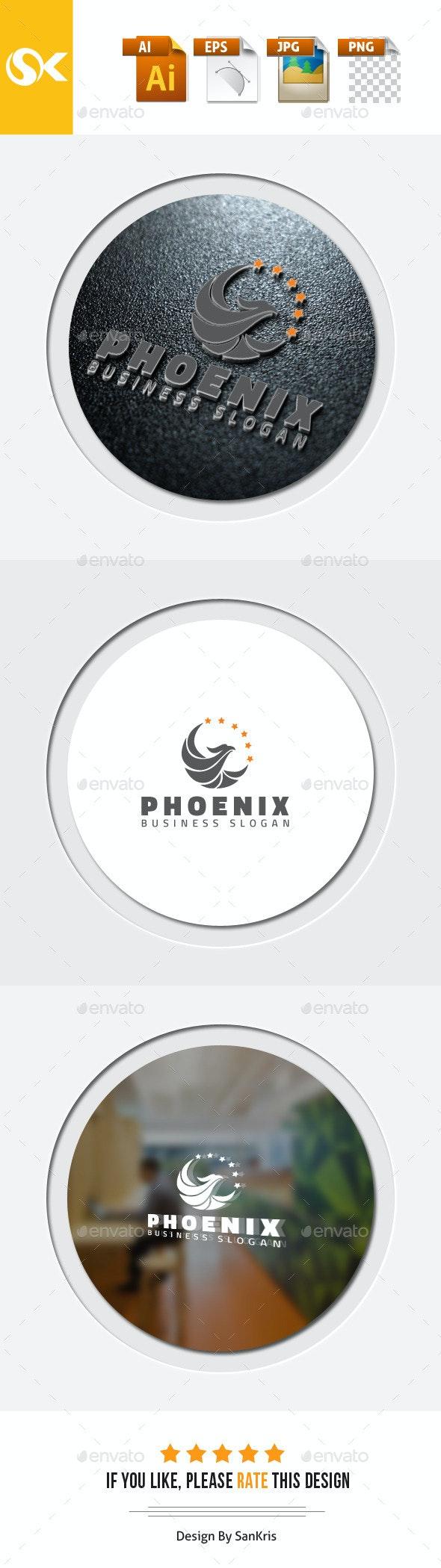 Phoenix Logo Template - Symbols Logo Templates