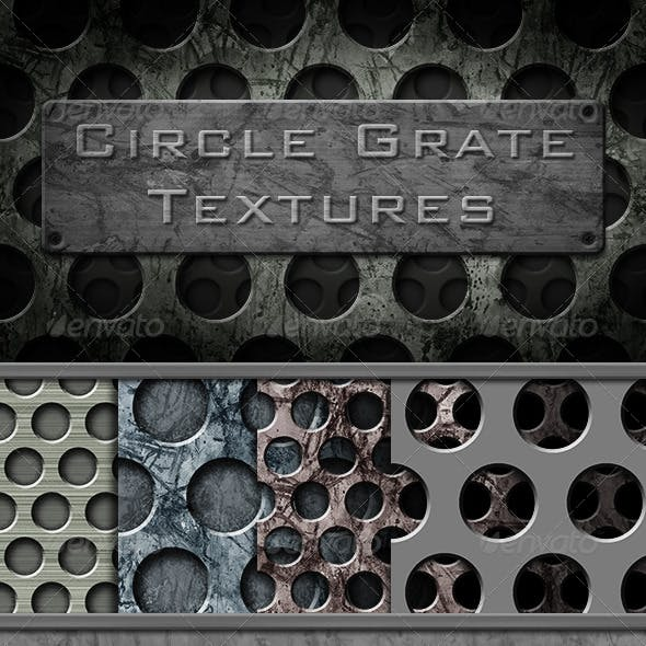 Circle Grate Texture Pack