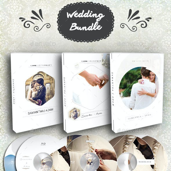 Wedding DVD / Blu-Ray Cover Bundle 2