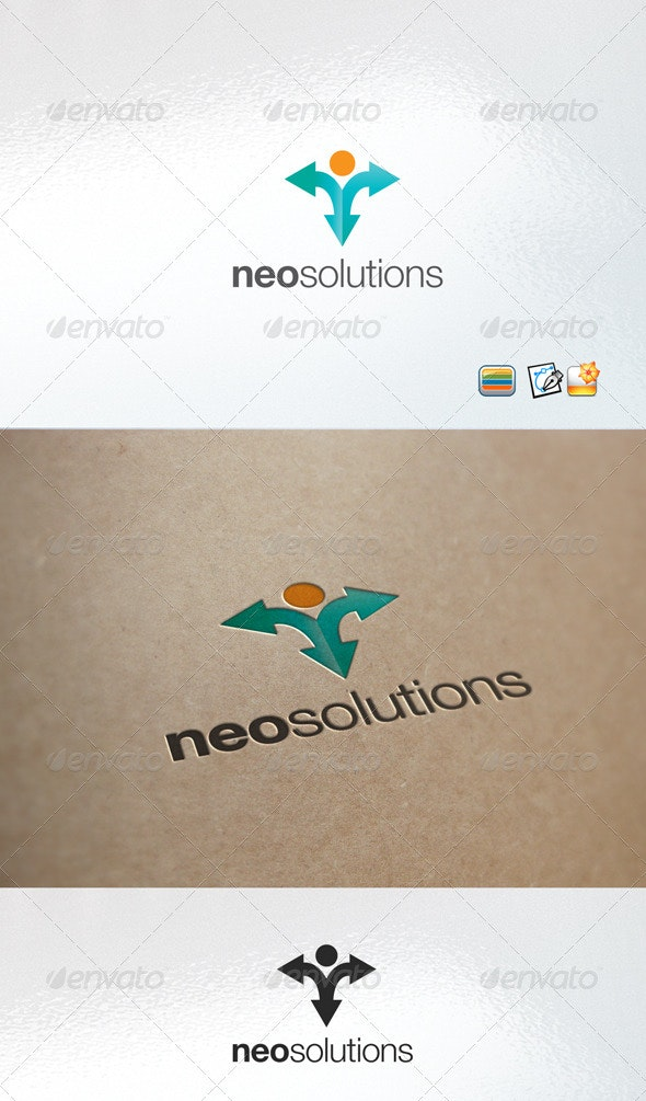 NeoSolution - Humans Logo Templates