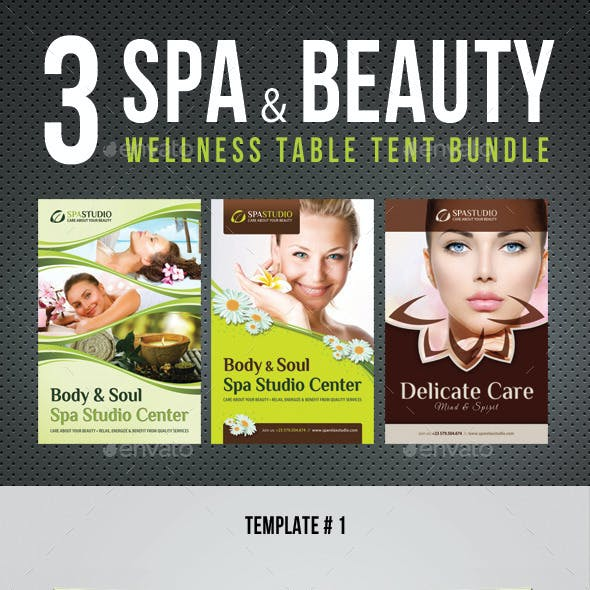 3 in 1 Spa And Beauty Table Tent Bundle V01