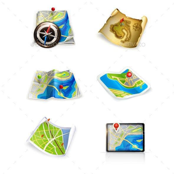 Maps Icons