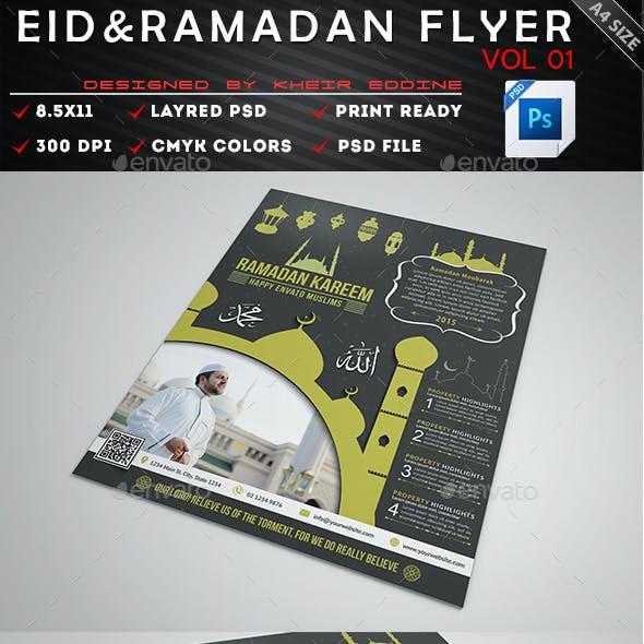 Ramadan & Eid Flyer Vol 01