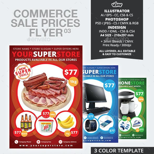 Commerce Sale Prices Flyer 03