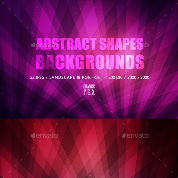 22 Abstract Shapes Backgrounds