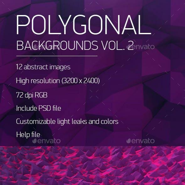 Polygonal Backgrounds Vol. 2