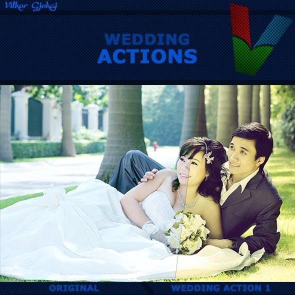 10 Wedding Actions I
