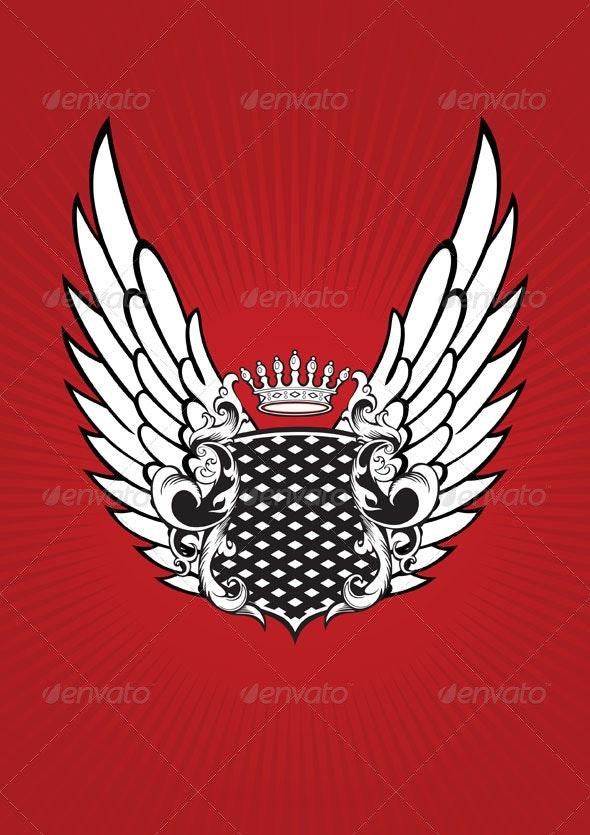 Coat of Arms - Decorative Symbols Decorative
