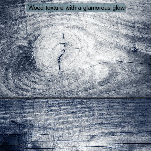 Wood Texture With A Glamorous Glow