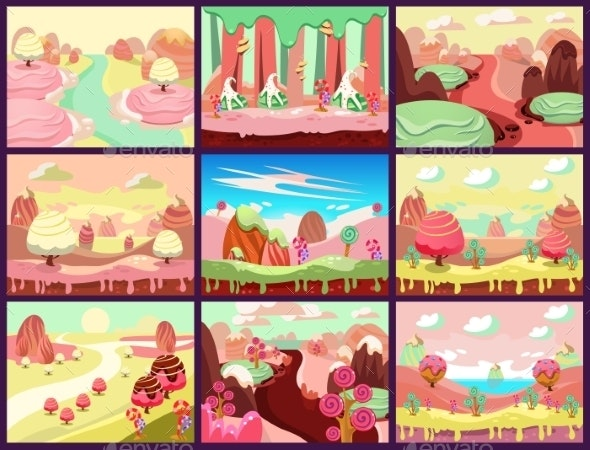 Candy Land Vector - Miscellaneous Vectors