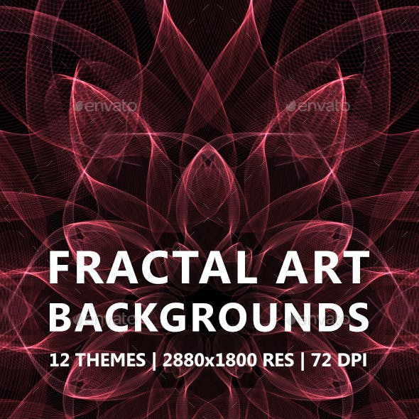 Fractal Art Backgrounds