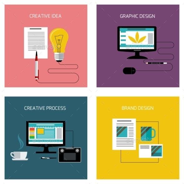 Creative Process, Branding Graphic