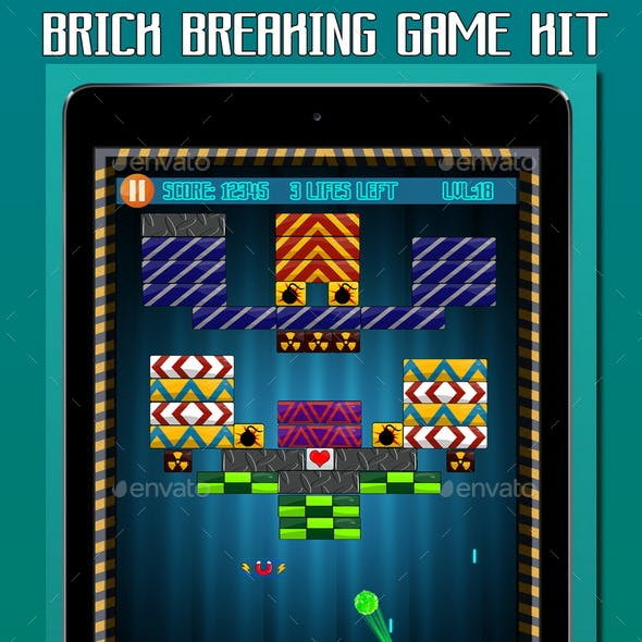 Brick Breaking Game Kit