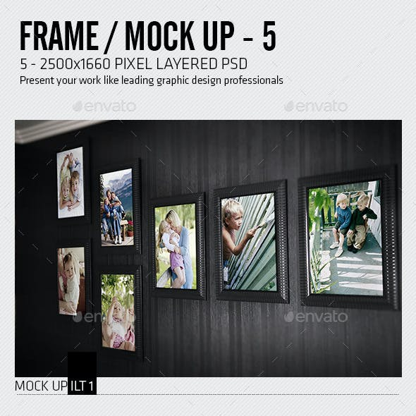Picture Frame Mock-Up