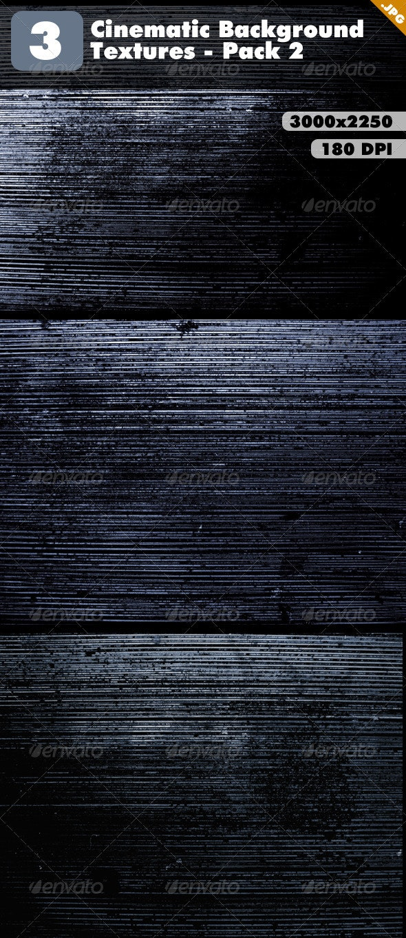 Cinematic Background Textures - Pack 2 - Industrial / Grunge Textures
