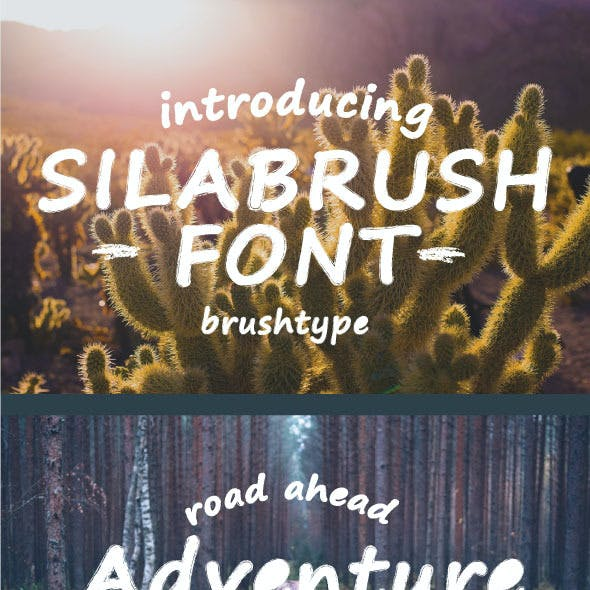 Silabrush Font