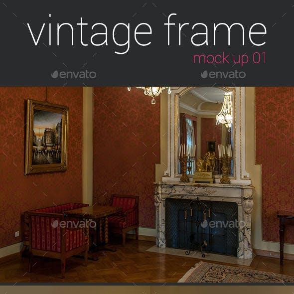 Vintage Frames Mockup