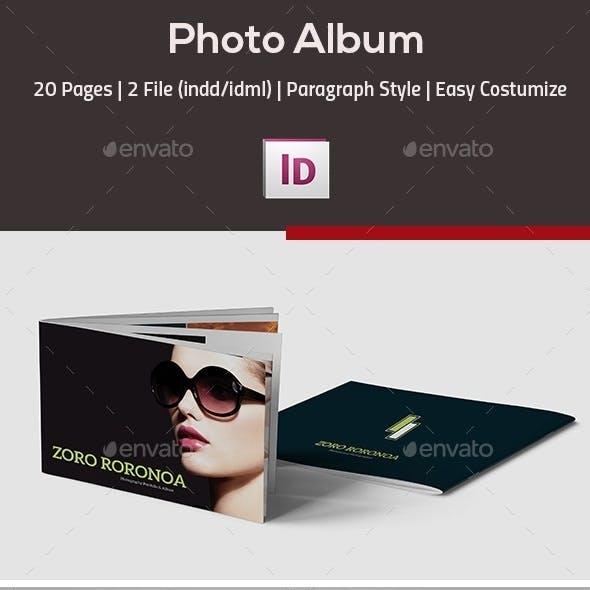 InDesign Photo Album