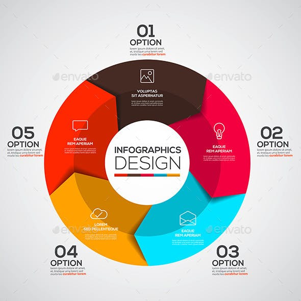 Modern Design Minimal Infographic