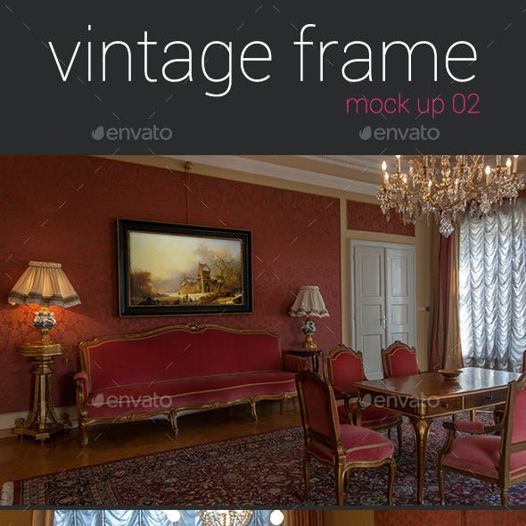 Vintage Frames Mockup 02