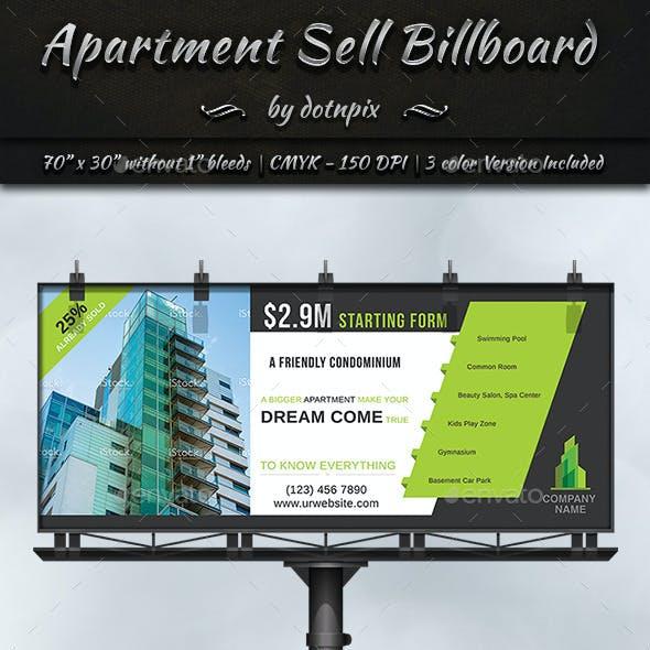 Apartment Sell Billboard