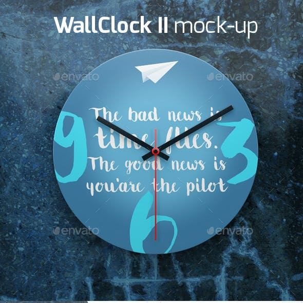 Wall Clock II Mock-up