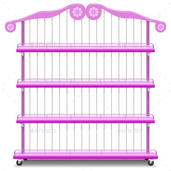 Vector Girlish Shelves