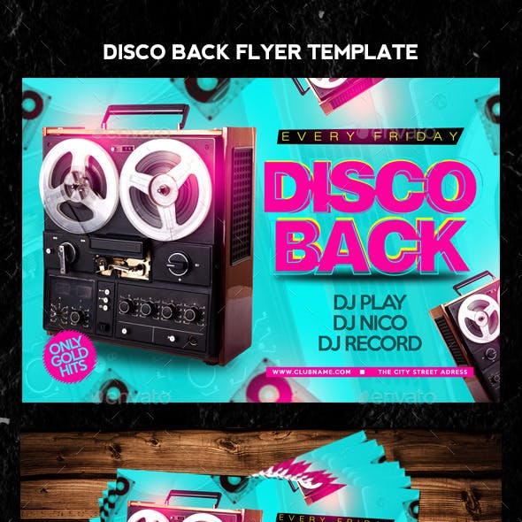 Disco Back Flyer